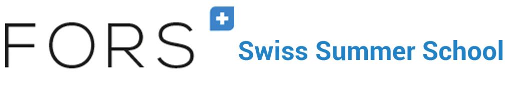 FORS Swiss Summer School